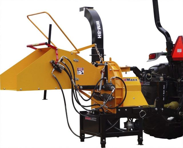 WoodMaxx Hydraulic Auto-Feed Chipper