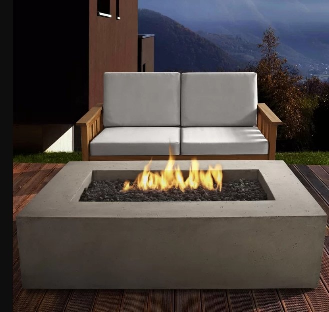 12. Cement Fire Pit