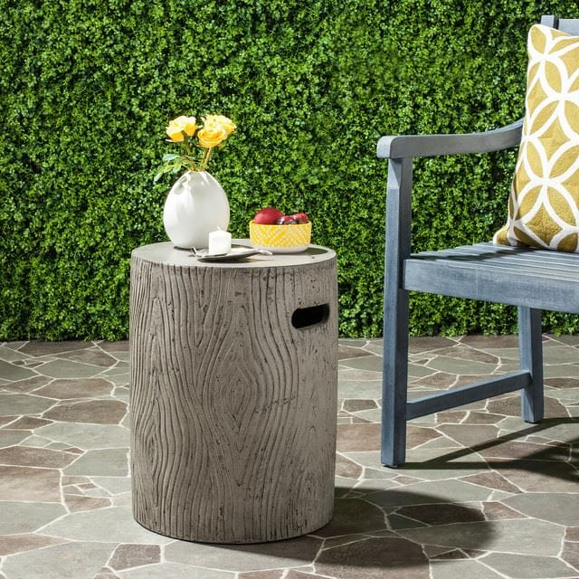 32. Dark Gray Accent Table