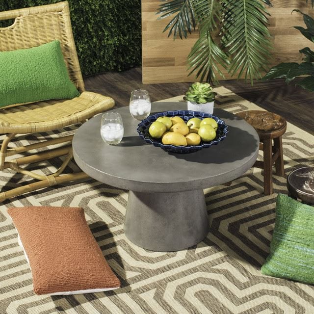 35. Dark Gray Short Table