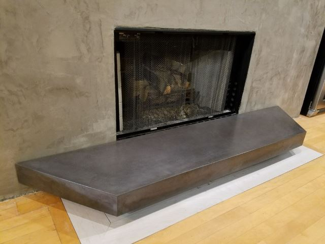 48. Concrete Hearth