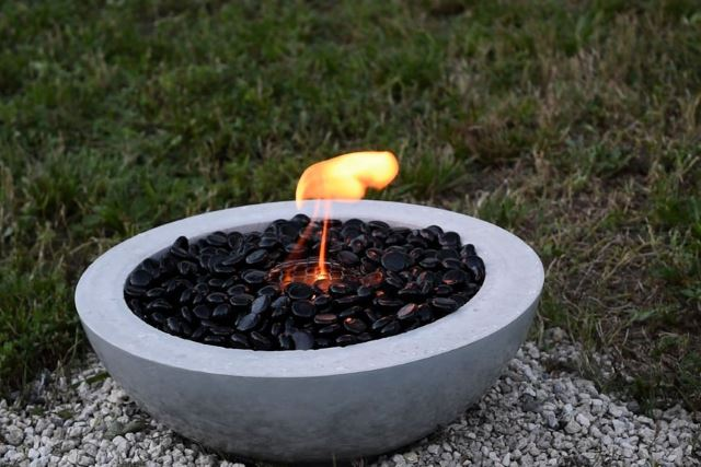 51. Concrete Fire Bowl