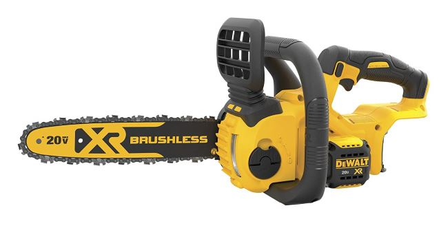 DEWALT DCCS620B 20V Max Compact Cordless Chainsaw Kit Bare Tool with Brushless Motor