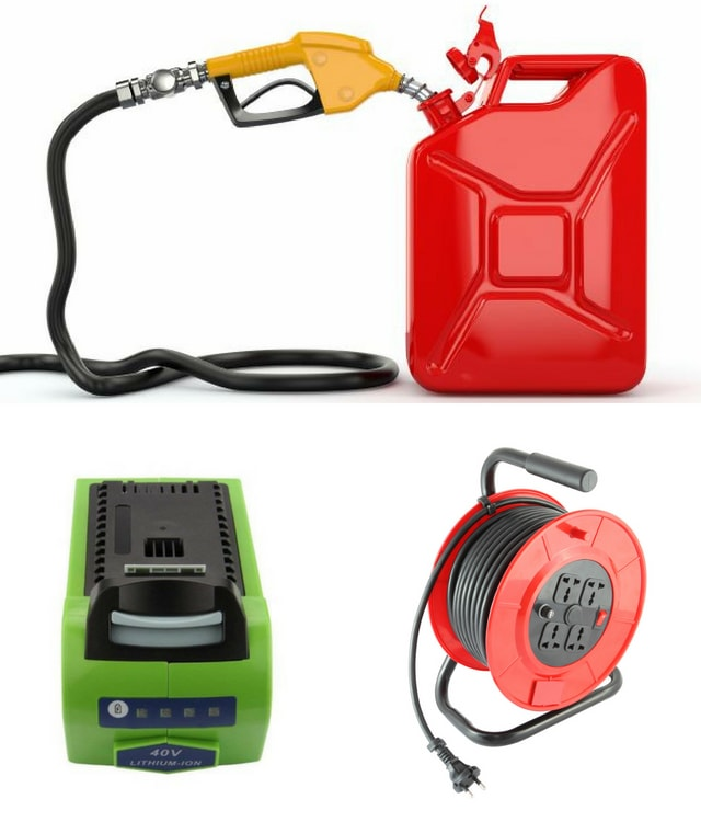 FUEL/Battery/Extension Cord