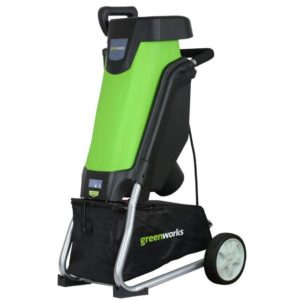 Greenworks 15 Amp Corded Shredder & Chipper 24052