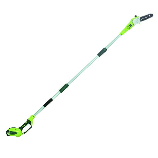 Greenworks 8-Inch Cordless Pole Saw