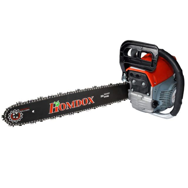 Homdox 20%22 52CC Chainsaw, 2-cycle 3HP Powerful Gas Chainsaw (52CC)