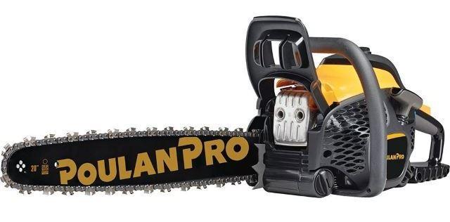 Poulan Pro 50cc Gas Powered Chain Saw
