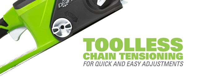 Tool-Free Chain Tensioner