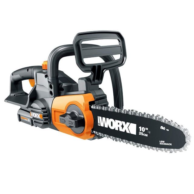 Worx WG322 10-in Cordless 20V Chainsaw