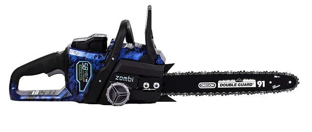 Zombi ZCS5817 16-Inch 58-Volt Lithium Cordless Electric Chainsaw