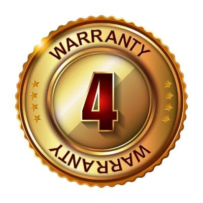 4 Year Product Warranty
