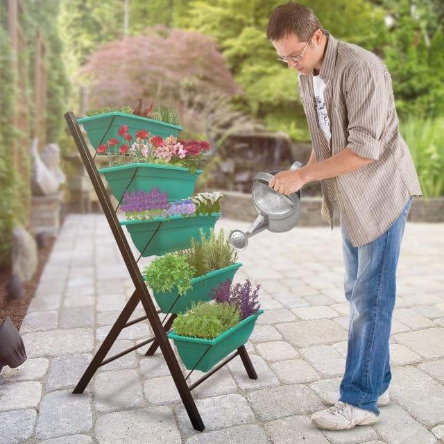 Tiered Garden Planters