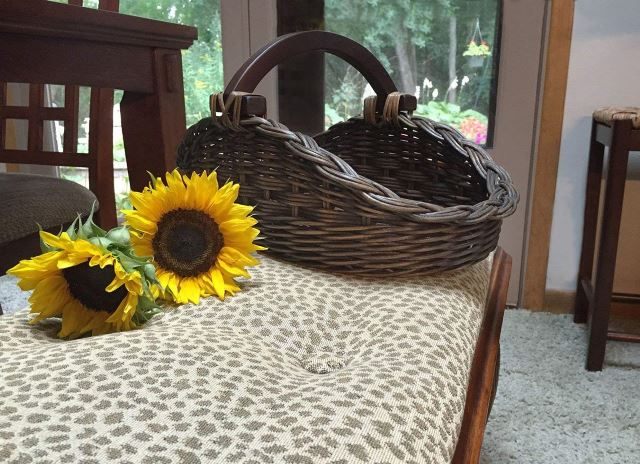 Antiqued Gathering Baskets