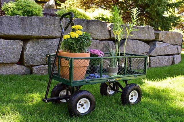 Steel, Removable Side Cart