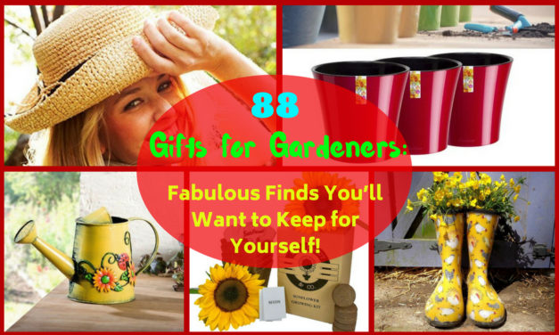 88 Gifts for Gardeners: Fabulous Finds You'll Want to Keep for Yourself!