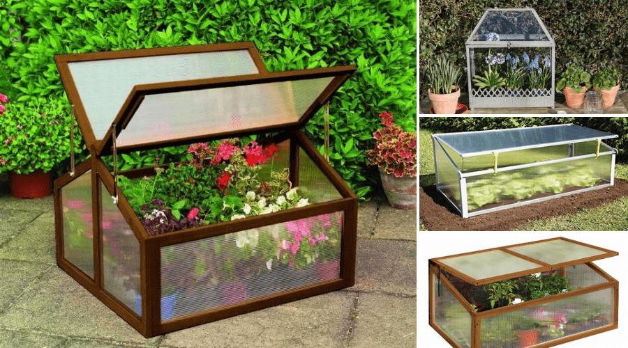 40 Greenhouse Cold Frame Designs