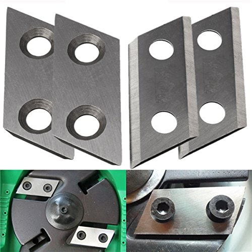 Hitommy 2Pcs Shredder Chipper Blade