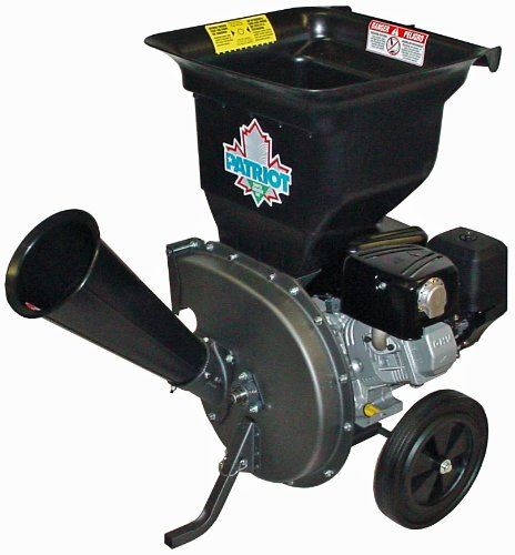 Patriot Products CSV-3100B Gas-Powered Wood Chipper