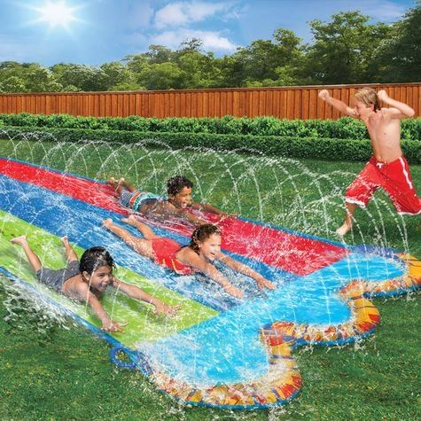 Sprinkler Slide