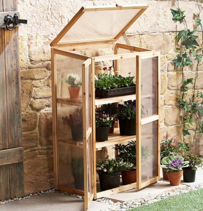 Mini Rustic Greenhouse