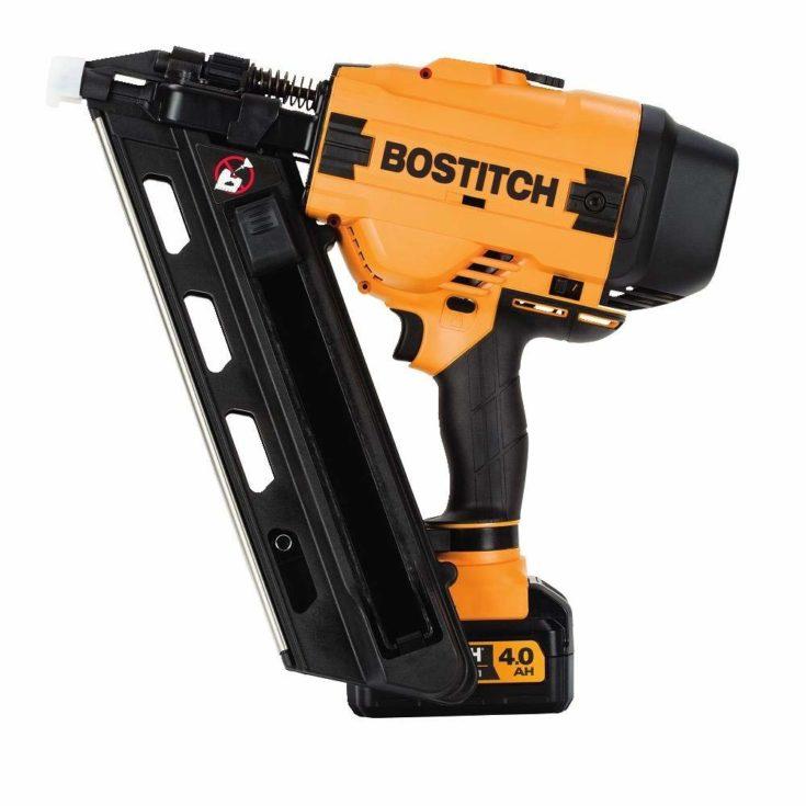 BOSTITCH 20V MAX 30 Degree Cordless Framing Nailer