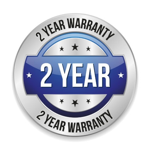 Two Year Warranty Logo
