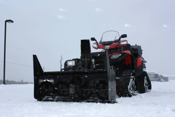 """BERCOMAC 54"""" Premium ATV Snowblower"""