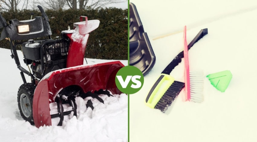 Featured Image - Snow Brush vs Snowblower: Your Choices Explained