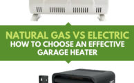 Natural Gas Vs Electric Garage Heater