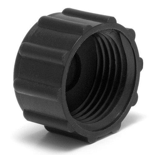 "Spears P105X Series PVC DWV Spigot Fitting, Cleanout Adapter with Plug, 6"" Spigot x 6"" NPT Female"