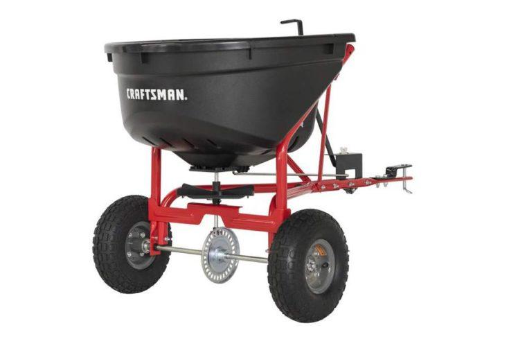 Craftsman 110-lb Tow Broadcast Spreader