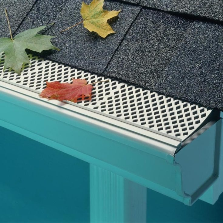 Sourced image - amerimax home products gutter guards strainers