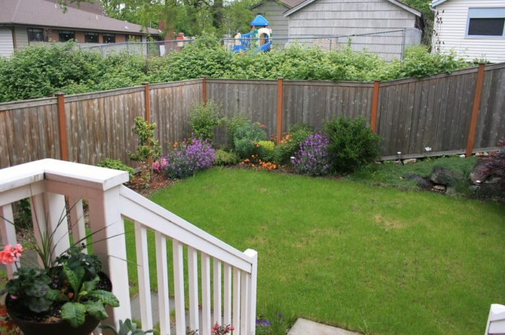landscaping a garden with a slope