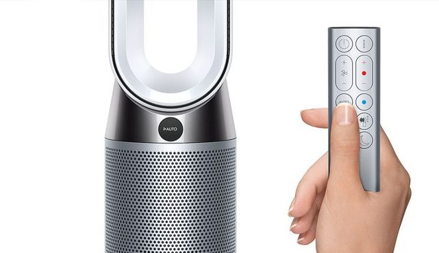 Dyson Pure Hot + Cool Air Product and Remote