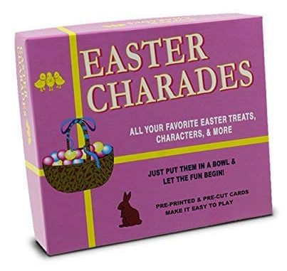 The Original Easter Charades Game Perfect for Your Easter Party Games