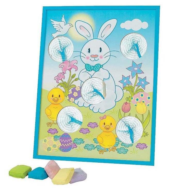 Fun Express - Easter Bean Bag Toss Game for Easter isolated in white background