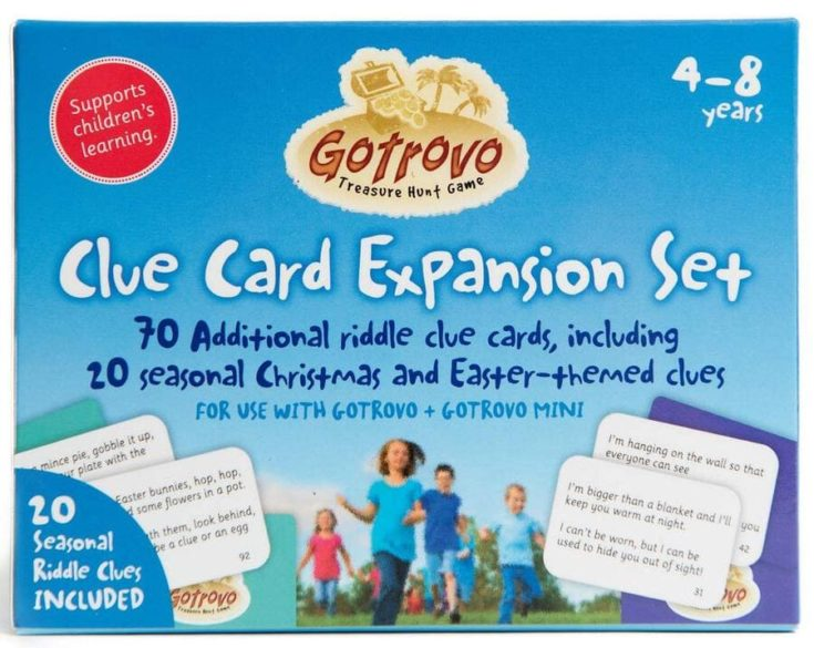 Gotrovo Expansion Pack for Treasure Hunt Game Edition