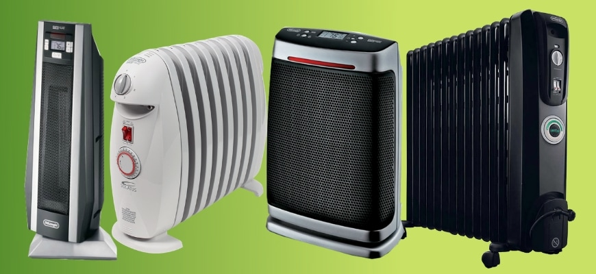 Top 5 Delonghi Space Heaters