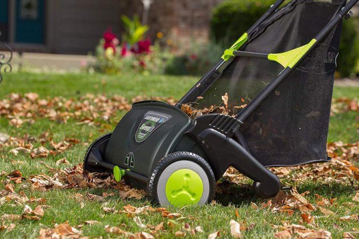 Earthwise LSW70021 21 Yard Sweeper, Inch Width