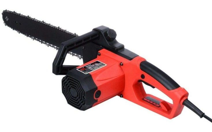 SJT. 18 Inch 2800w Bar Powerful Lightweight Corded Electric Chainsaw Garden Tools