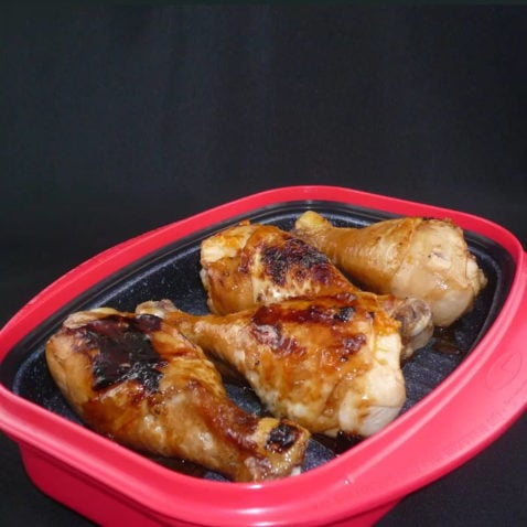 Non-Stick Cookware with baked chicken