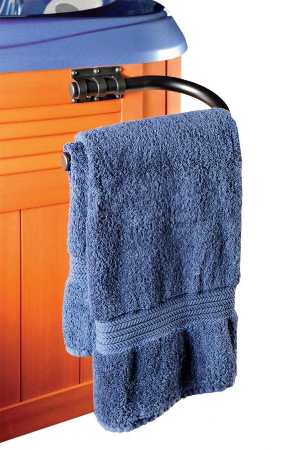Leisure Concepts TowelBar for hot tubs isolated in white background
