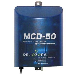 Del Ozone MCD-50U-12 Spa Ozonator in white background