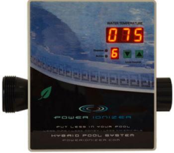 Power Ionizer in white background