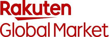 Rakuten Global Market red text with white background