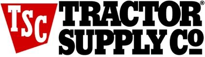 Tractor Supply Co. logo in white background