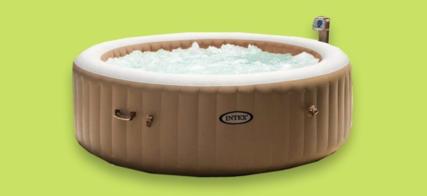 The Best Intex Hot Tubs Feature Image