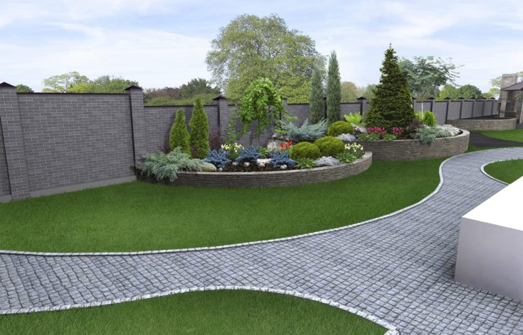 Natural character of the site into the design. Well-thought landscape planning.