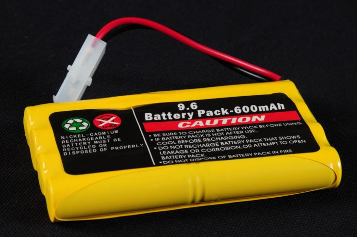 Rechargeable Battery pack.